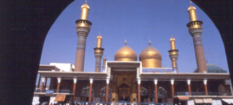 Мечеть в Ираке. Фото ЮНИСЕФ