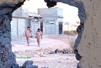 В ООН подчеркивают, что кризис в Ливии нельзя преодолеть военным путем. Фото ИРИН/Том Весткотт