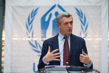 Filippo Grandi, the UN High Commissioner for Refugees. (file)