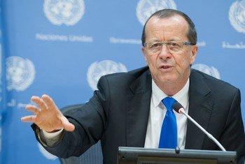 من الأرشيف: الممثل الخاص للأمين العام في ليبيا مارتن كوبلر.