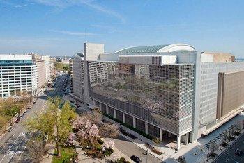 世界银行总部大厦。