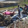 Israeli authorities demolished Bedouin homes in the vulnerable community of Abu Nwar, Area C, near East Jerusalem in the West Bank. Photo: UNRWA