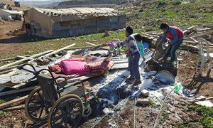 Israeli authorities demolished Bedouin homes in the vulnerable community of Abu Nwar, Area C, near East Jerusalem in the West Bank.