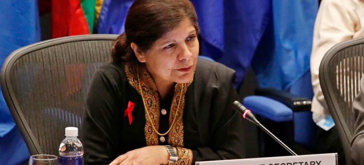 Executive Secretary of the UN Economic and Social Commission for Asia and the Pacific (ESCAP) Shamshad Akhtar.