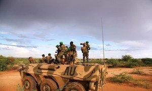 African Union (AU) troops in the Gedo region of Somalia.