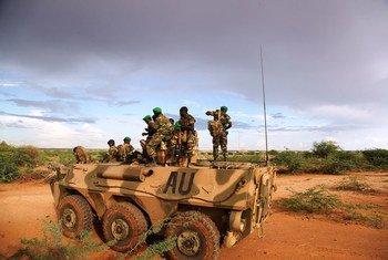 Tropas de la misión de la Unión Africana en Somalia (AMISOM). Foto: ONU/Mahamud Hassan
