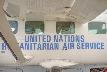 Le Service aérien humanitaire des Nations Unies (UNHAS). Photo PAM/Brian Sokol