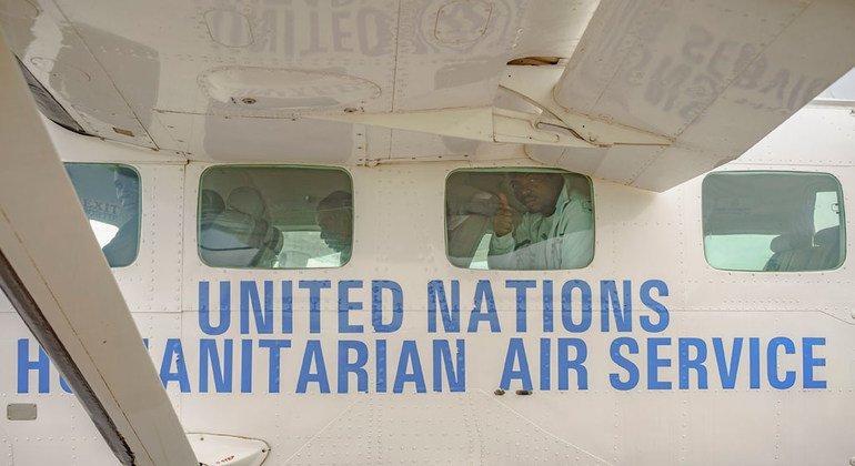 Donor support helps UN agency continue Humanitarian Air Service across Sudan