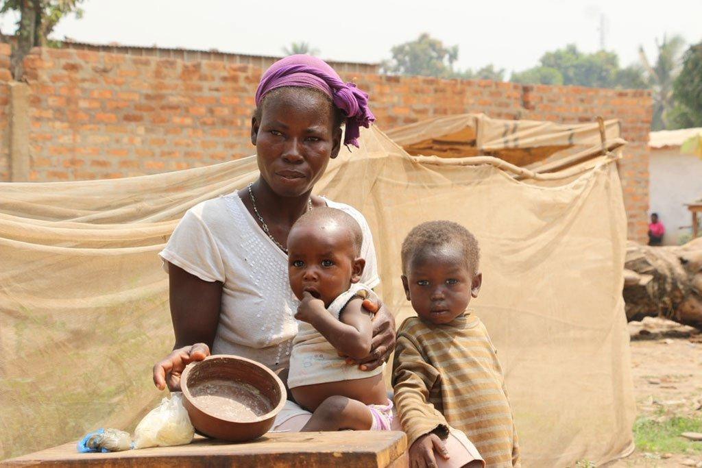 Watu milioni mbili na nusu nchini Jamhuri ya Afrika ya Kati ( CAR)wanakabiliwa na njaa
