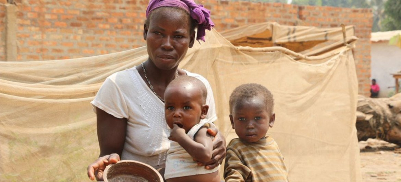 En République centrafricaine, la malnutrition touche 41% des enfants âgés de moins de 5 ans. (archive)