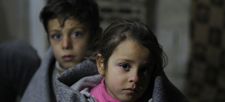 Миллионы детей в Сирии выросли в условиях войны и никогда не видели мирного неба над головой.