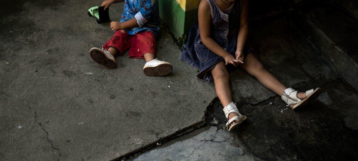 Muchos niños sufren desnutrición en Guatemala. Foto de archivo:  Jonathan Levinson/IRIN