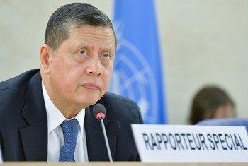 印度尼西亚人权专家马祖基·达鲁斯曼(Marzuki Darusman)领导缅甸事实调查组。联合国图片/Jean-Marc Ferré