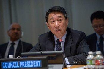 Председатель ЭКОСОС О Джун Фото ООН/Рик Бахорнас