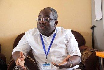 联合国苏丹人权情况独立专家诺诺西(Aristide Nononsi)。(2015年资料图片)