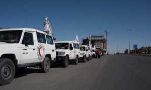 UN Agencies and partners delivered aid on 17 February 2016 to 80 thousand people, including 35 thousand children in Syria, living under siege in Moadamiyeh, Zabadani, Madaya, Foah and Kefraya.