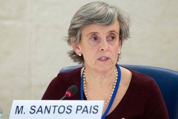 Representante especial do secretário-geral da ONU sobre Violência contra Crianças, Marta Santos Pais.
