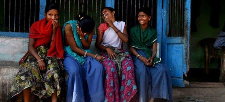 Wasichana vigori katika wilaya ya Udaipur India