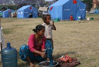 尼泊尔家政女工。儿基会图片/Sangharsha Bhattarai
