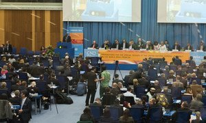 Opening of the 59th Session of the Commission on Narcotic Drugs (CND) in Vienna, Austria.