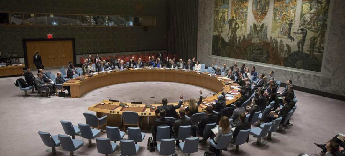 Security Council votes to extend mandate of UN Support Mission in Libya (UNSMIL).