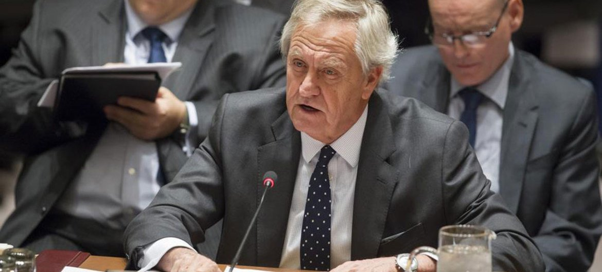 Special Representative and head of the UN Assistance Mission in Afghanistan (UNAMA) Nicholas Haysom.