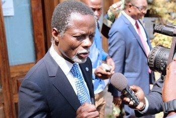 Le Représentant spécial du Secrétaire général pour la République centrafricaine, Parfait Onanga-Anyanga (archives).