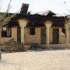 أرشيف: مدرسة أحرقتها جماعة بوكو حرام عام 2013 في مايدوغوري، عاصمة ولاية بورنو، شمال شرق نيجيريا.