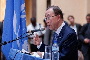 El Secretario General de la ONU, Ban Ki-moon. Foto de archivo: ONU/Evan Schneider.