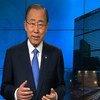 El Secretario General de la ONU, Ban Ki-moon, instó a garantizar un desarrollo con bajas emisiones en el Día Internacional de la Madre Tierra. Foto: Captura de pantalla ONU