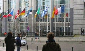 European Union headquarters in Brussels, Belgium.