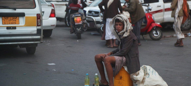 Yemen's capital, Sana'a, in July 2015.