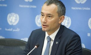 Nickolay Mladenov, UN Special Coordinator for the Middle East Peace Process. (file)