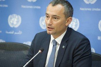 Nickolay Mladenov, le Coordonnateur spécial de l'ONU pour le processus de paix au Moyen-Orient. Photo ONU/Loey Felipe