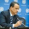 联合国也门问题特使谢赫艾哈迈德。联合国图片/Loey Felipe