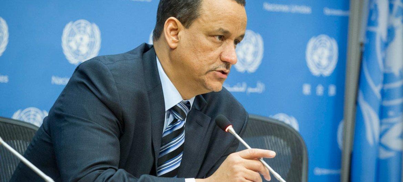 Ismail Ould Cheikh Ahmed, enviado especial de la ONU para Yemen. Foto de archivo: ONU/Loey Felipe