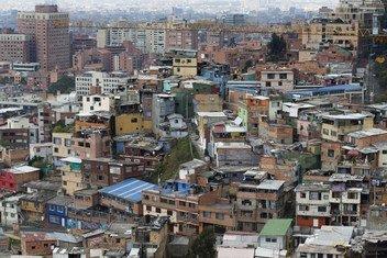 Imagen de la ciudad de Bogotá. Foto de archivo: Dominic Chavez/Banco Mundial