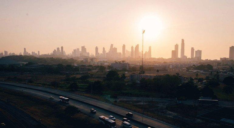 Imagen de la ciudad de Panamá.