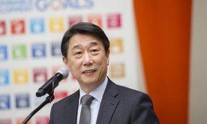 Oh Joon, Permanent Representative of the Republic of Korea to the UN and President of the Economic and Social Council (ECOSOC).
