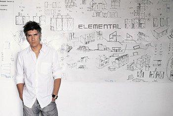 Architect Alejandro Aravena.