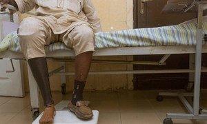 Adeniran souffre du diabète de type 2 et reçoit des soins réguliers au centre médical de Lekki, à Lagos au Nigéria (archives). Photo OMS/A. Esiebo