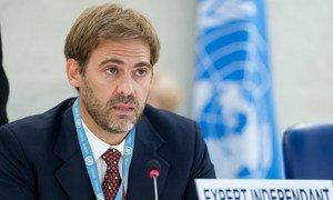 Independent Expert on foreign debt and human rights, Juan Pablo Bohoslavsky.