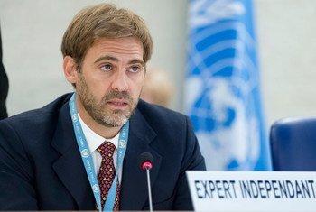 El experto independiente de la ONU sobre Deuda Externa y Derechos Humanos, Juan Pablo Bohoslavsky.