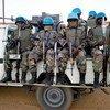 联合国驻北达尔富尔地区维和人员。非盟-联合国达尔富尔混合行动图片/Albert Gonzalez Farran