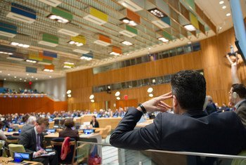 The General Assembly holds informal dialogues with candidates for the position of the next Secretary-General of the United Nations.
