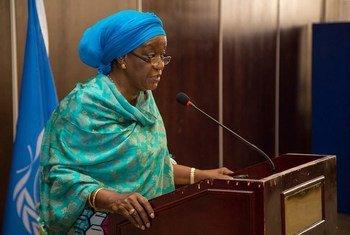 La Représentante spéciale du Secrétaire général sur les violences sexuelles en période de conflit, Zainab Hawa Bangura. Photo du bureau de la Représentante spéciale