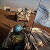 أفراد من كتيبة بنغلاديش في بعثة الأمم المتحدة المتكاملة المتعددة الأبعاد لتحقيق الاستقرار في مالي (مينوسما).