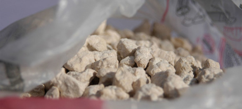 Heroin seizure in Turkmenistan.