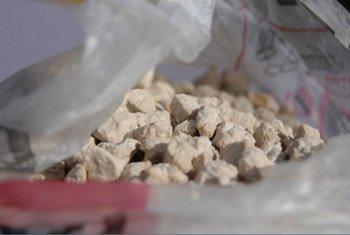 """La Oficina de la ONU contra la Droga y el Delito alerta de un """"resurgimiento desastroso"""" del consumo de heroína en algunos países. Foto: UNODC"""