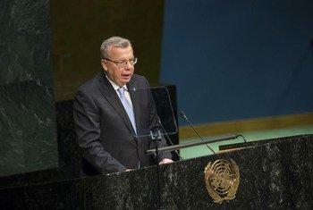 Le Directeur exécutif de l'Office des Nations Unies contre la drogue et le crime (ONUDC), Yury Fedotov (archives). Photo ONU/Manuel Elias